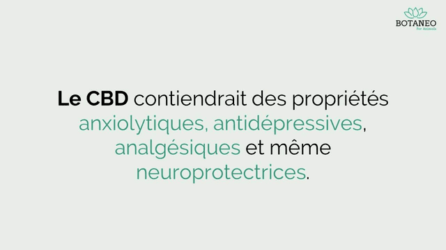CBD contre le stress, la dépression et la douleur