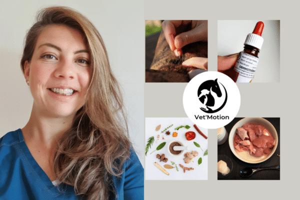 Dr vétérinaire Lucie DEVEUGLE, une approche holistique de l'animal