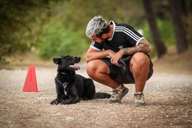 Robin Guagliardo éducation éducateur chien canin cote d'azur nice france