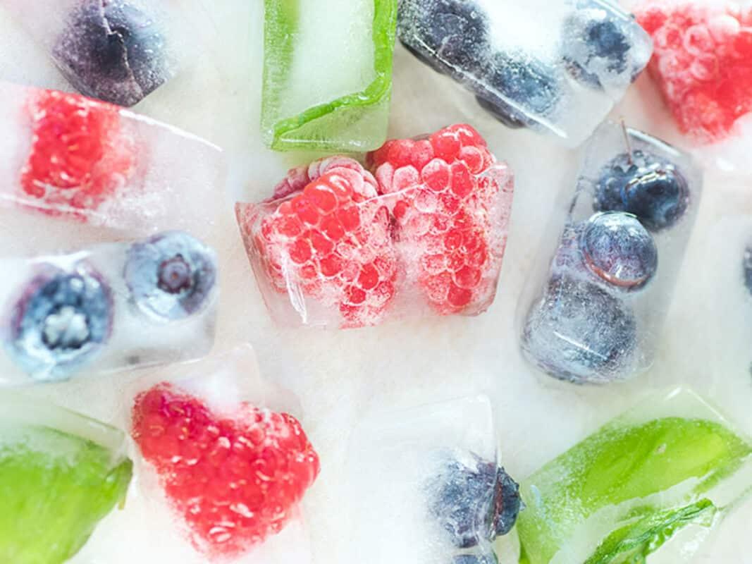 glace fruit pour chien recette été