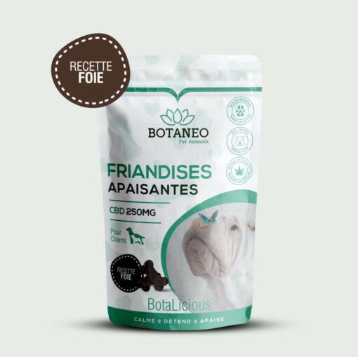Friandises apaisantes pour chien - Meilleur CBD chien - Botaneo